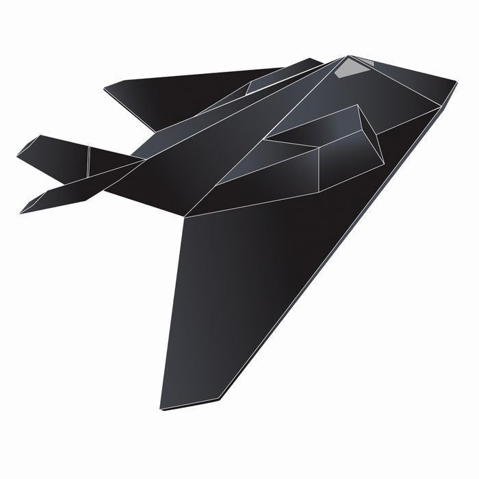 44 Inch Wind 'N Sun Wind Force Stealth Fighter 3-D Nylon Kite