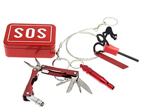Pocket Sized Travel S.O.S. Survival Kit by Decor Craft Inc - Off The Wall Toys and Gifts