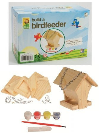Build & Paint Wooden Bird Feeder