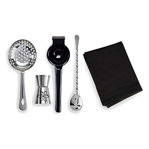 Bartender Tools - Science Themed 5pc Gift Set - Off The Wall Toys and Gifts