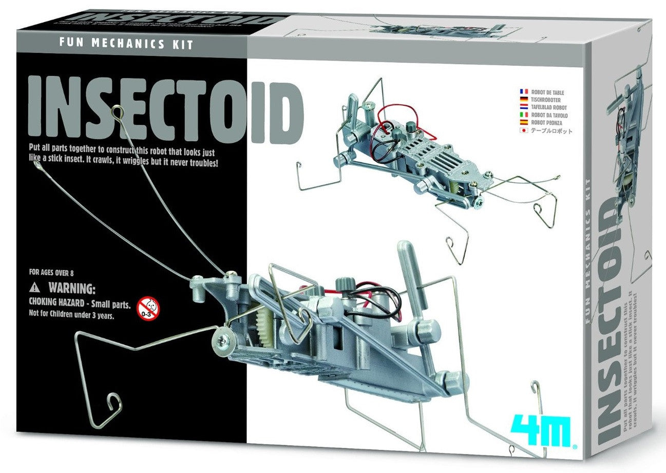 4M Insectoid Robug Mechanics Kit - Off The Wall Toys and Gifts