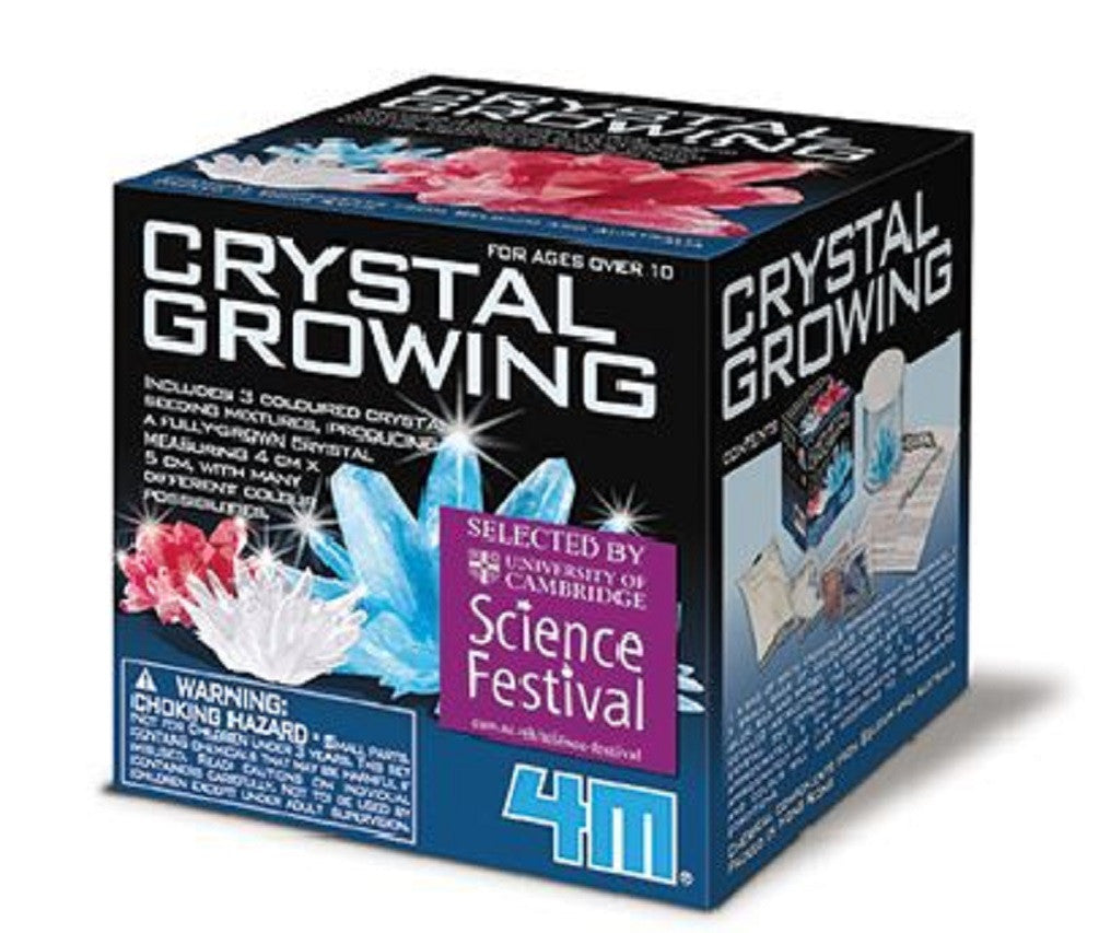 4M Crystal Growing Chemistry Experiment Kit - Multi Color - Off The Wall Toys and Gifts
