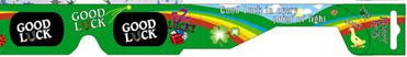 Good Luck Holographic Glasses Good For St Patricks Day Quantity Discount - Off The Wall Toys and Gifts