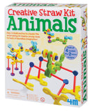 4M Tubee Creative Straws Building Kit - Animals - Off The Wall Toys and Gifts