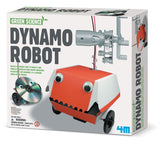 Dynamo Robot 4M Kit - A Robot That Needs No Batteries - Off The Wall Toys and Gifts