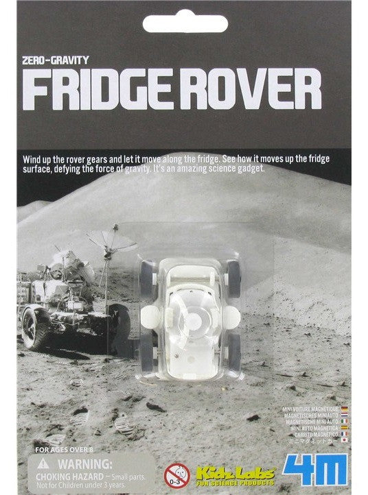 Fridge Rover Zero Gravity Magnetic Wind-up Toy by 4M