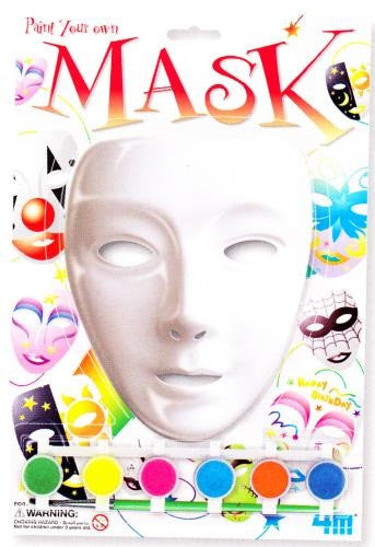 Paint Your Own Mask a 4M Kit from Toysmith