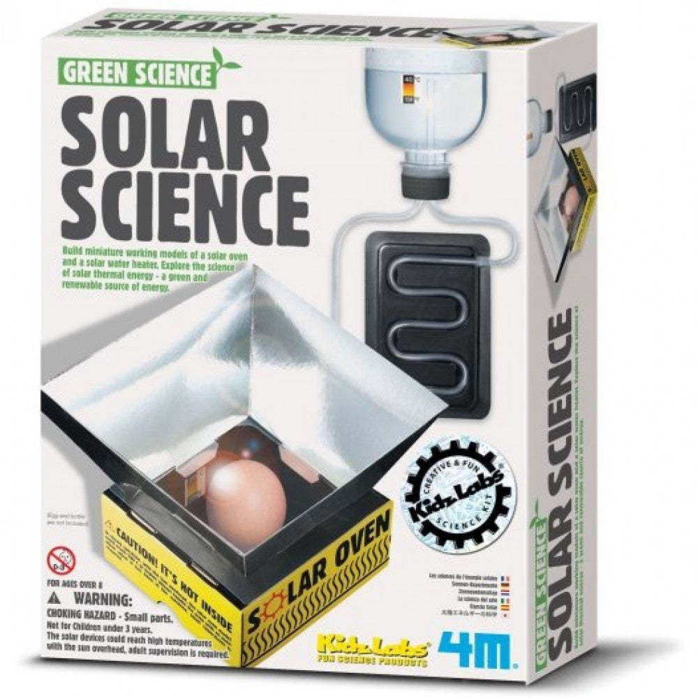 Solar Science Kit 4M Green Science Using Suns Rays