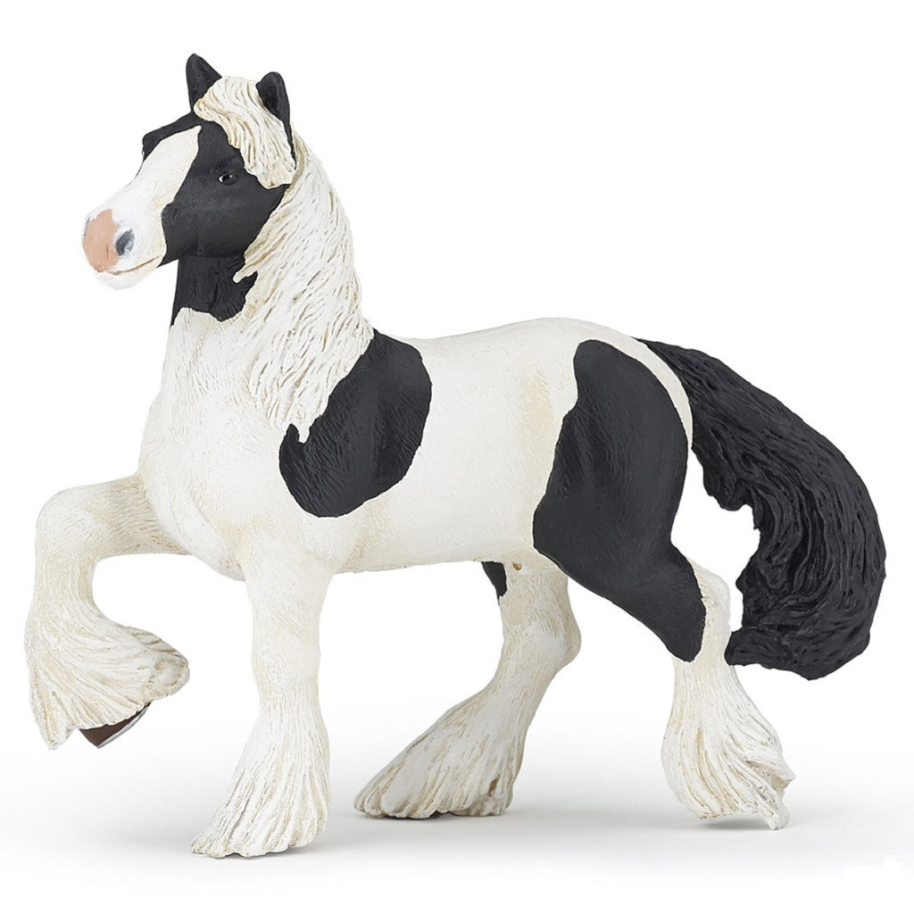 "5.5"" Irish Cob Horse - Realistic Animal Replica, by Papo"