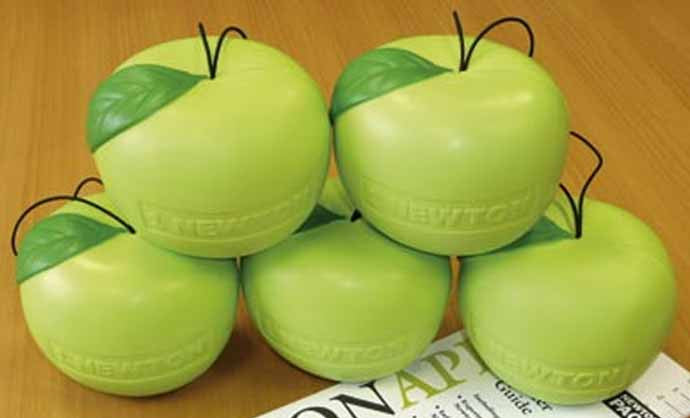 Newton Apples Pack of Five; Measures One Newton - Off The Wall Toys and Gifts