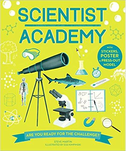 Scientist Academy Activity Book Paperback by Kane Miller