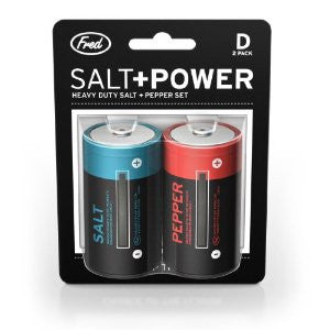 Salt & Power: Battery Salt & Pepper Set - Off The Wall Toys and Gifts
