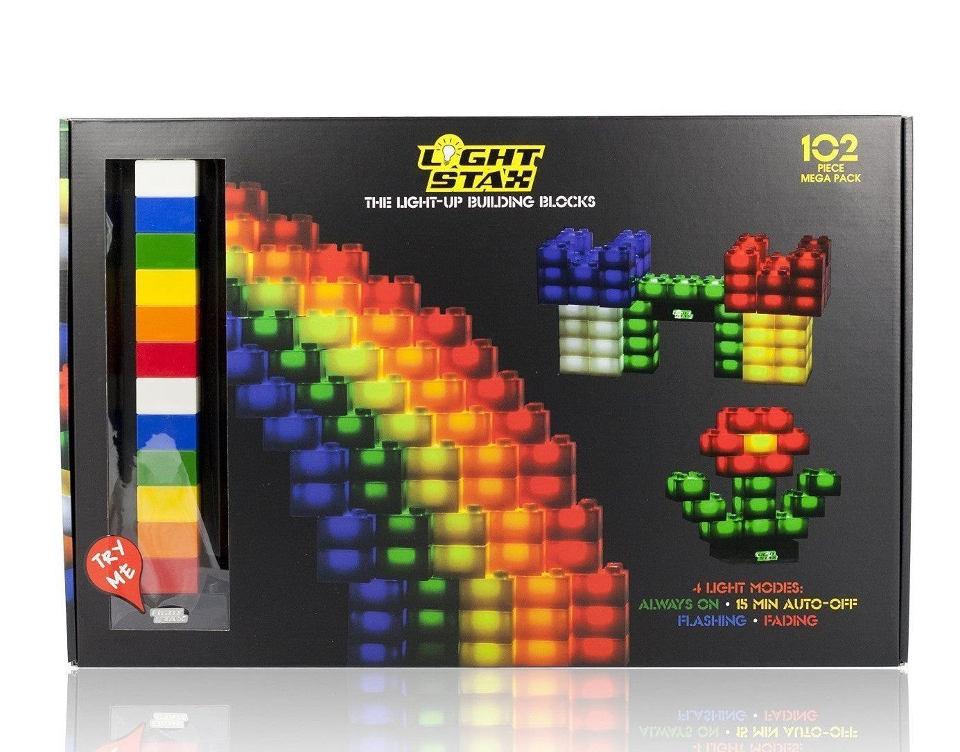 Light Stax Illuminated Blocks Classic Design 102 Pieces - Off The Wall Toys and Gifts