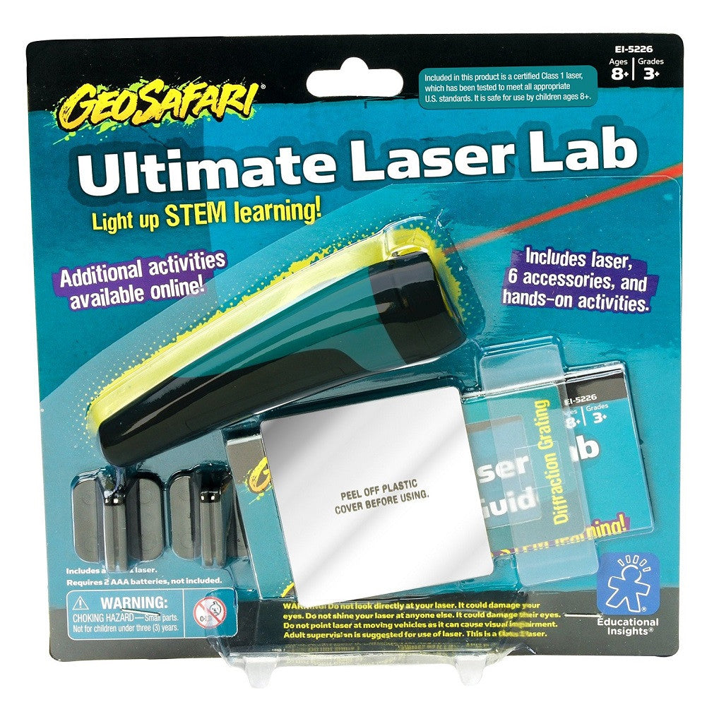 GeoSafari Ultimate Laser Lab STEM Activity Kit - Off The Wall Toys and Gifts