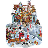 Christmas at Our House - 1000 Piece Shaped Jigsaw Puzzle - Off The Wall Toys and Gifts