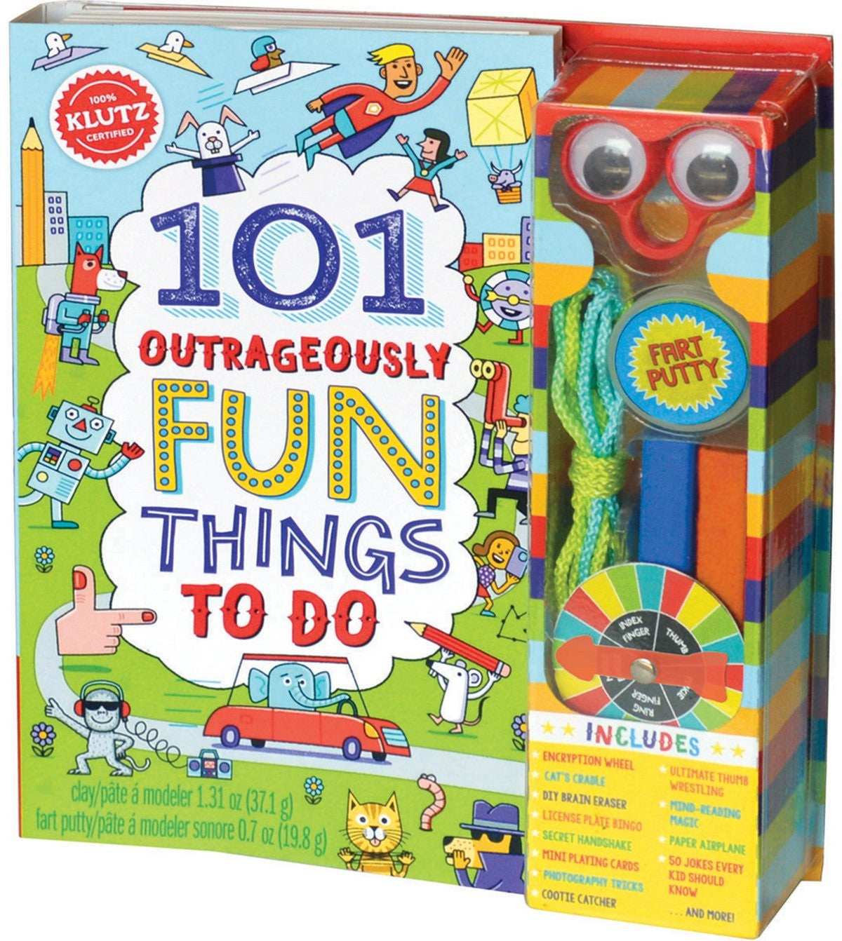 101 Outrageously Fun Things To Do Activity Book, by Klutz - Off The Wall Toys and Gifts