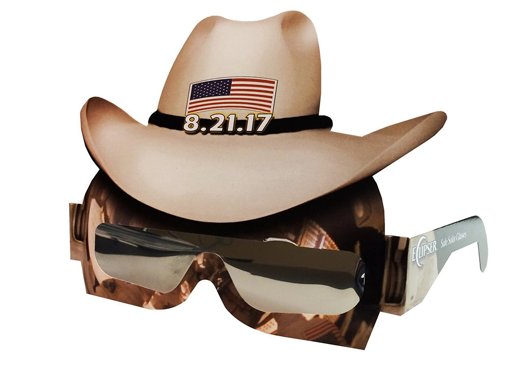 Space Cowboy Eclipse Glasses, by American Paper Optics - Pack of 4 Eclipsers