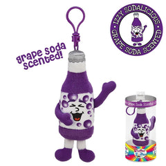 Izzy Sodalicious Backpack Clip - Grape Soda Scented Whiffer Sniffer