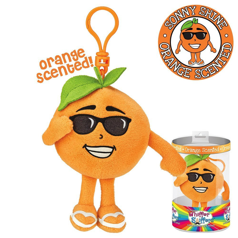 Sonny Shine Backpack Clip - Orange Scented Whiffer Sniffer