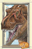 Tyrannosaurus Rex Dinosaur Window Laminated Poster 24x36 - Off The Wall Toys and Gifts