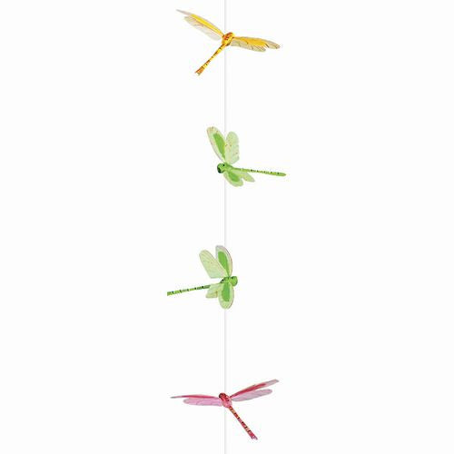 Dragonfly Garland Set - 9 Hand Painted Dragonfly Pieces - Off The Wall Toys and Gifts