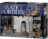 Pirate Fortress Construction Set a 4M kit Make your own bricks. - Off The Wall Toys and Gifts