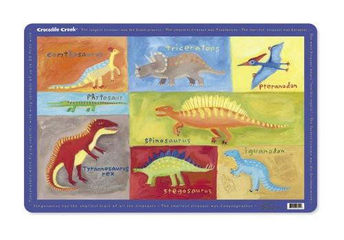 Dinosaurs Placemat by Crocodile Creek - Off The Wall Toys and Gifts