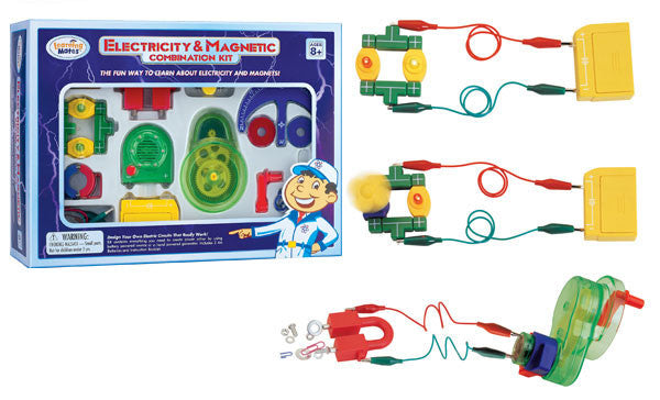 Electricity & Magnetic Combo Kit-Learning Mates - Off The Wall Toys and Gifts