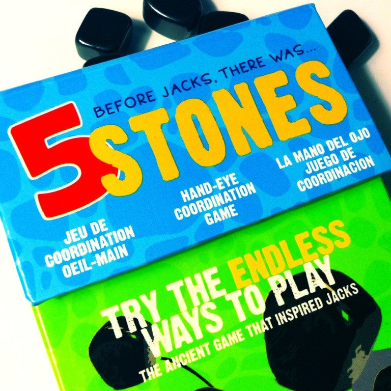 5 Stones: The Hand-Eye Coordination Game by Griddly Games - Off The Wall Toys and Gifts