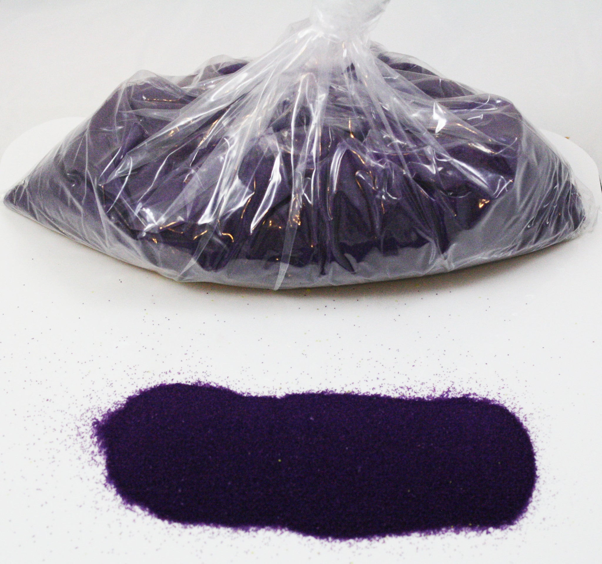 Neon Purple Space Sand: 5lbs of Bulk Hydrophobic Sand - Off The Wall Toys and Gifts