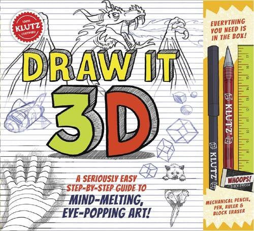 KLUTZ Draw It 3D Book