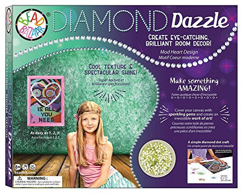 Diamond Dazzle Mod Heart Design Craft Kit