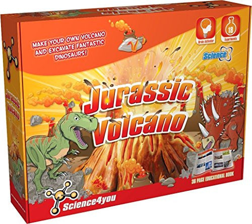 Jurassic Volcano Science Kit by Science4You - Off The Wall Toys and Gifts