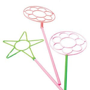 12 Neon Bubble Wands 24 Inches Great for Parties - Off The Wall Toys and Gifts