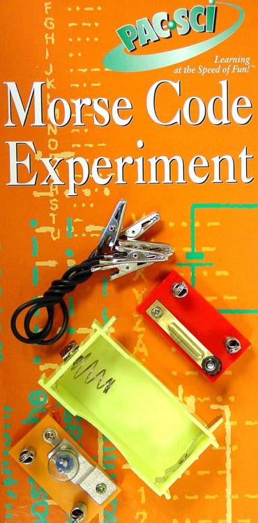 Morse Code Experiment Kit Communication Old Style