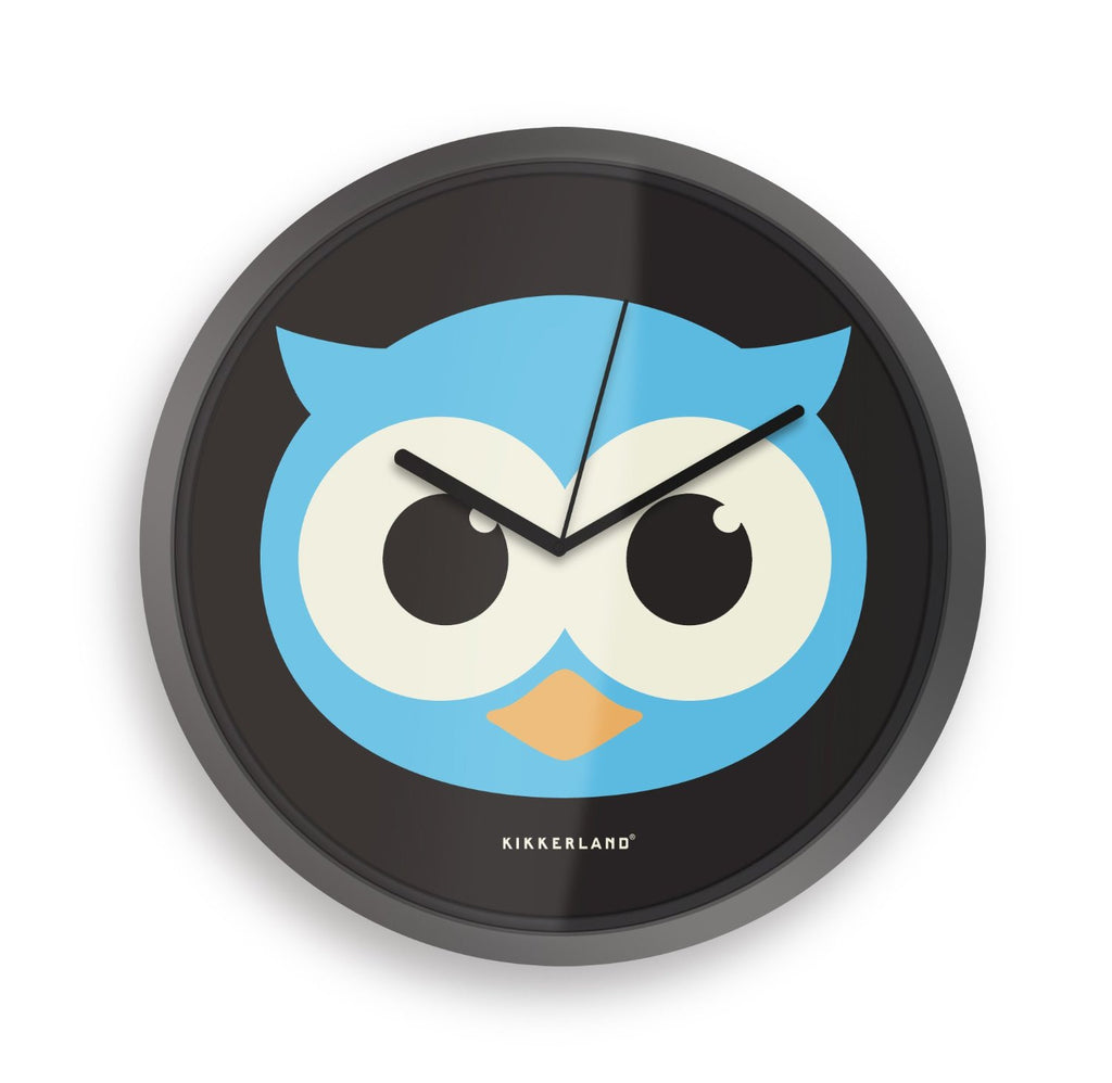 """Night Owl"" - Glow in the Dark Wall Clock"