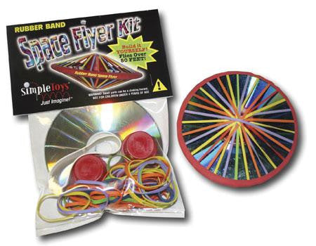 Rubber Band Space Flyer Kit - Latex Free