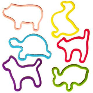 Silly Bandz Pets Animal Shaped Rubber Band Set Quantity Discounts 24pk - Off The Wall Toys and Gifts