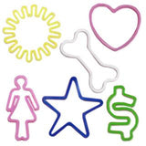Silly Bandz Basic Symbols Rubber Band Bracelets 24/pk Quantity Discounts - Off The Wall Toys and Gifts