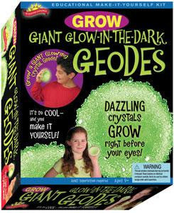 Elmers Education Grow Giant Glow In The Dark Geode Activity Kit Scientific Explorer - Off The Wall Toys and Gifts