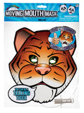 Paper Tiger Face Moving Mouth Mask Talking Headz Critter - Off The Wall Toys and Gifts