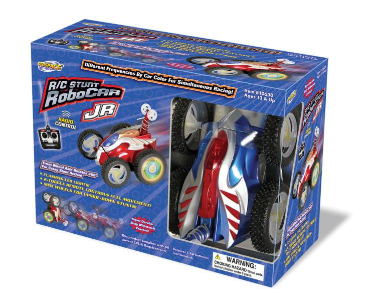 Geospace R/C Stunt RoboCar JR- Remote Control Car - Off The Wall Toys and Gifts