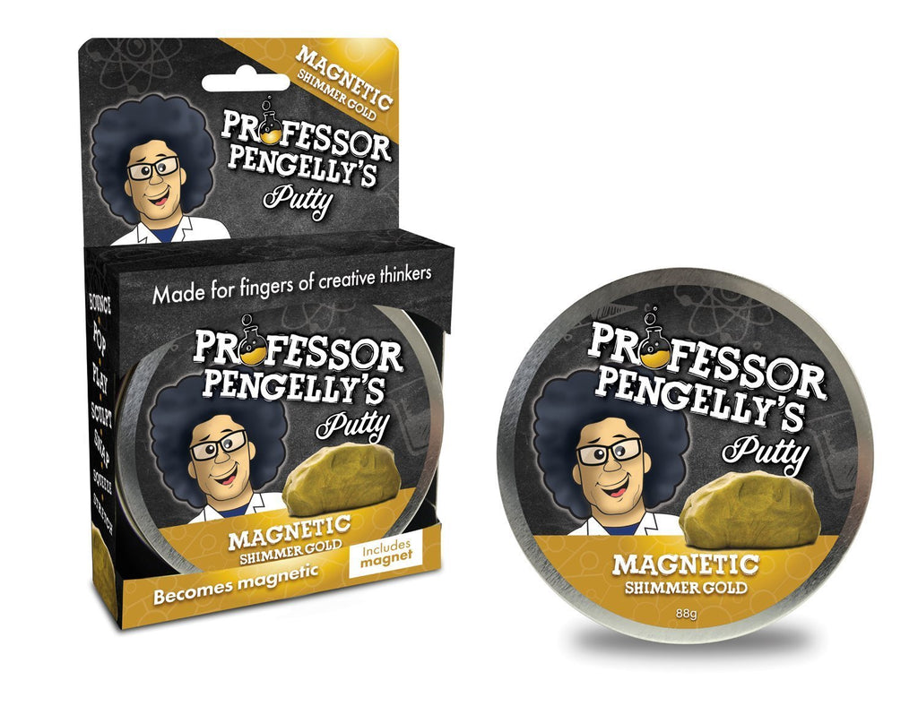 Professor Pengelly's Magnetic Putty - Shimmer Gold