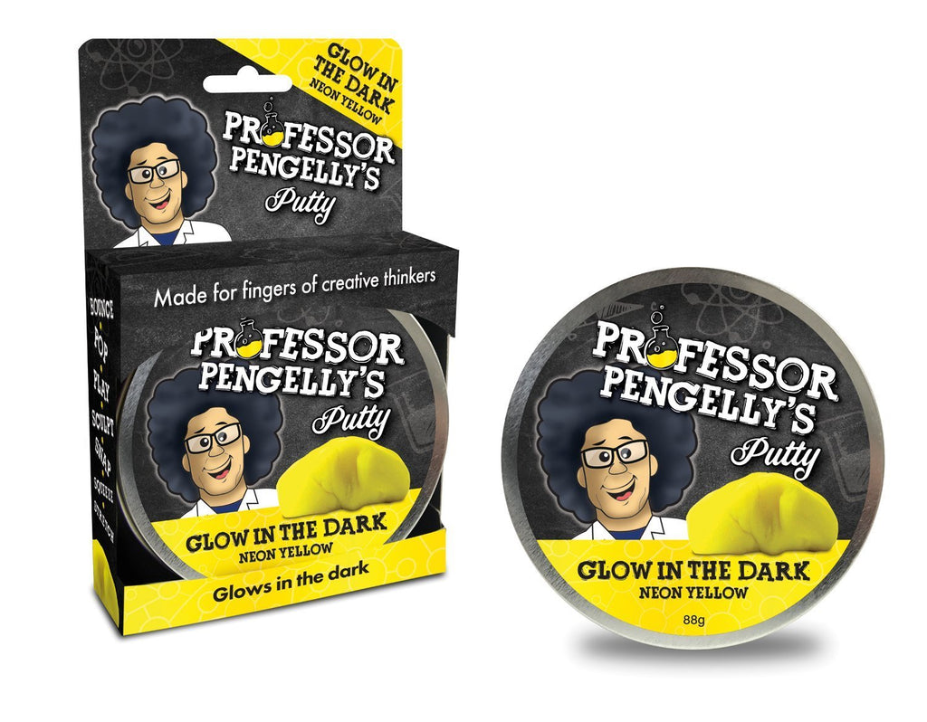 Professor Pengelly's Putty Glow in The Dark - Neon Yellow