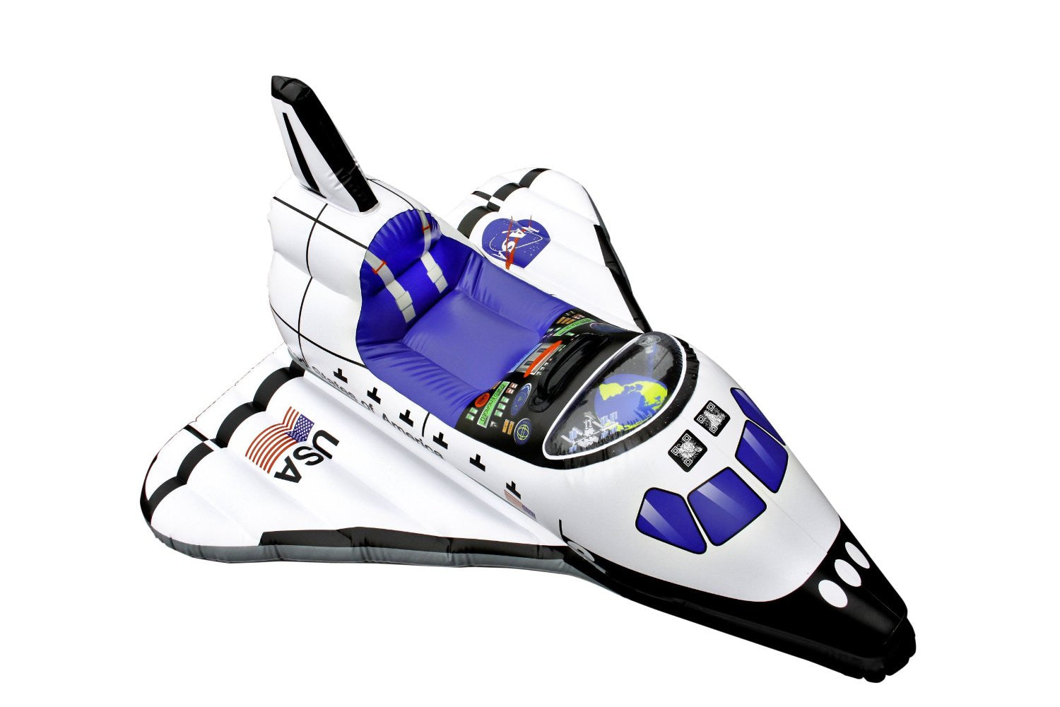 Aeromax Jr. Space Explorer - Inflatable Space Shuttle Float - Off The Wall Toys and Gifts
