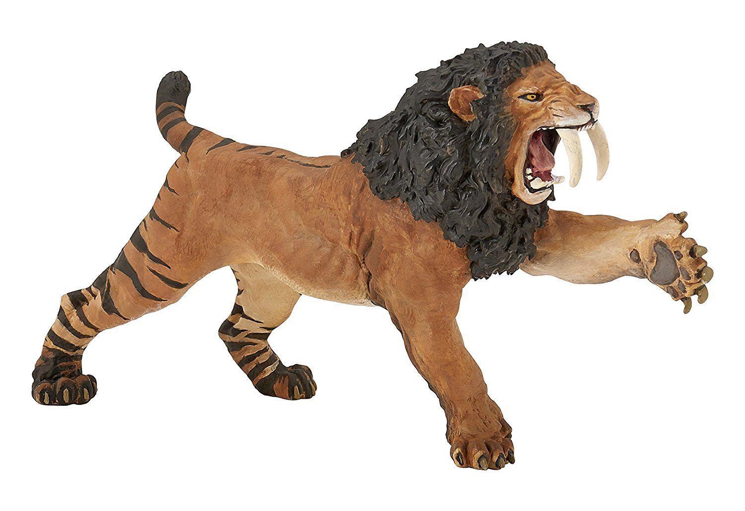 "6"" Long Roaring Smilodon - Realistic Replica, by Papo"