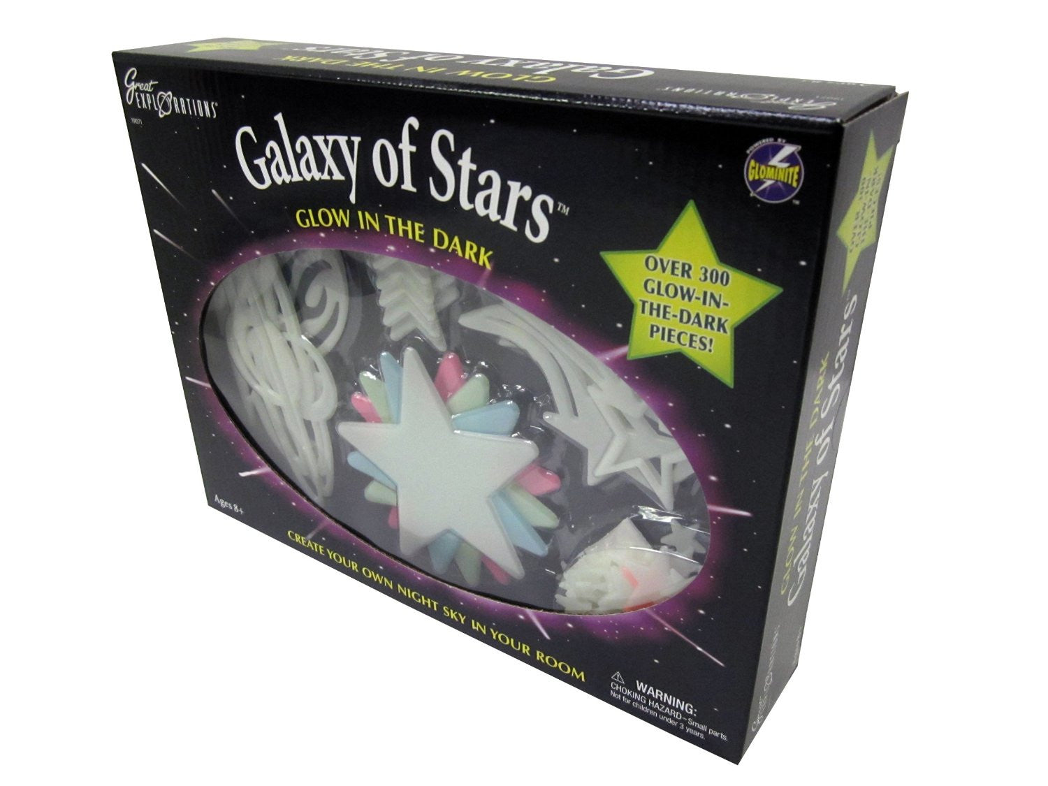 Galaxy of Stars by University Games - Glow in the Dark Pieces - Off The Wall Toys and Gifts