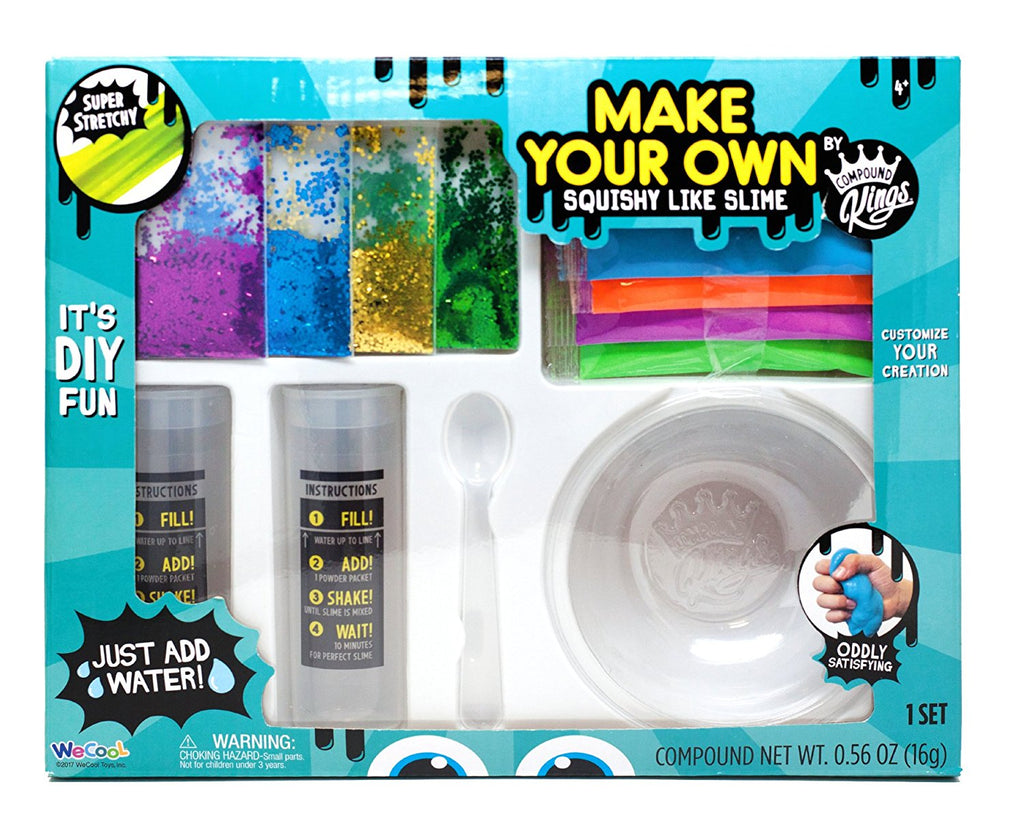 Compound Kings Make Your Own Squishy Like Slime - Medium DIY Kit