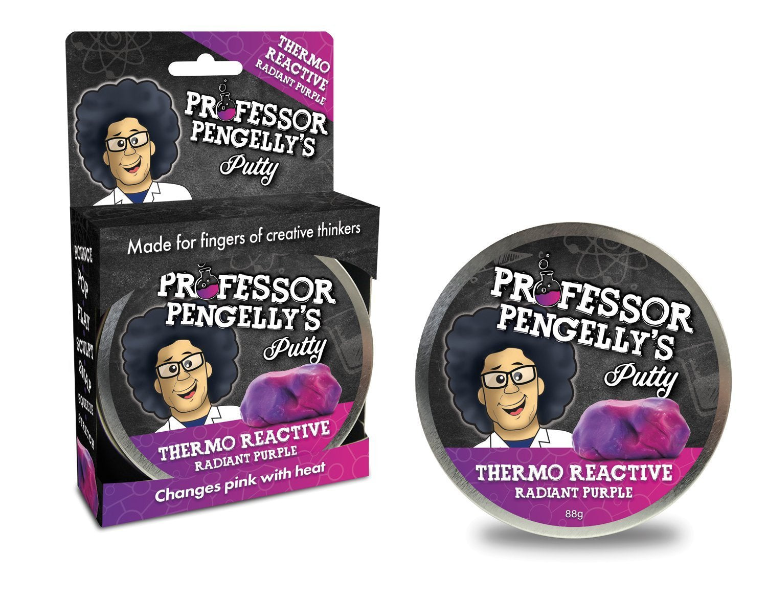 Professor Pengelly's Thermo Reactive Putty - Radiant Purple