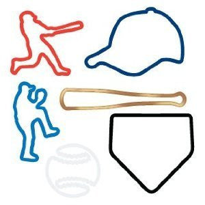 Silly Bandz Baseball Rubber Band Bracelets 24pk Super Sale - Off The Wall Toys and Gifts